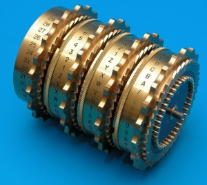 cipher machine rotors